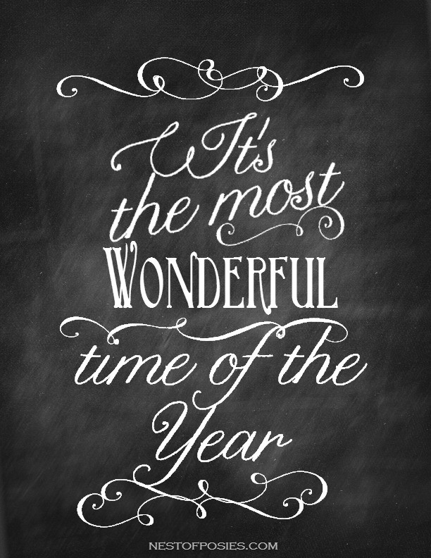 Its-the-Most-Wonderful-Time-of-the-Year-Chalkboard-Printable