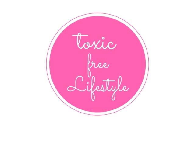 toxic free lifestyle