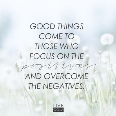 oola focus on the positives