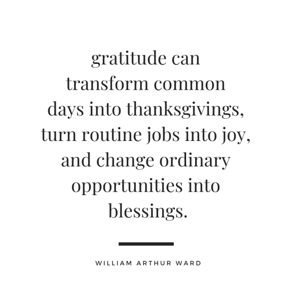 gratitude william arthur ward