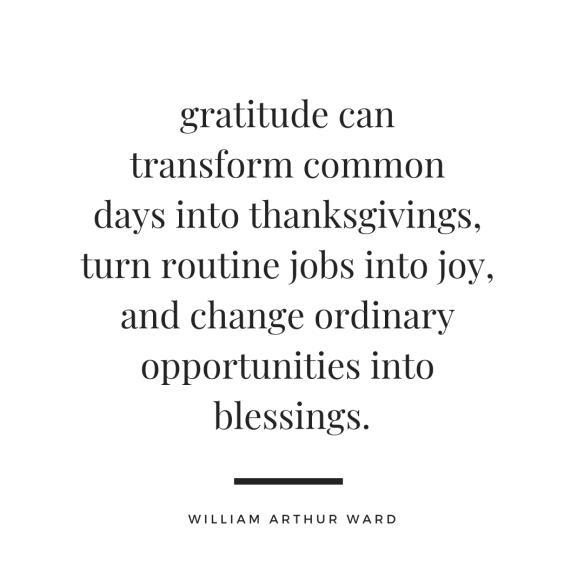 gratitude william arthur ward
